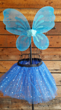 Blue Pixie Fairy Wings