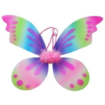 Multicolor Pixie Fairy Wings