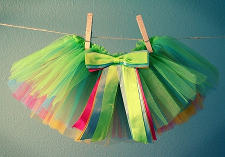 Rainbow Toddler Tutu