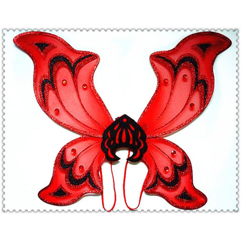 Adult Red Devil Wings