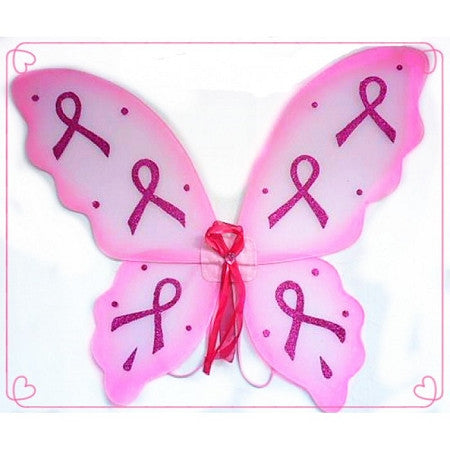 Breast Cancer Awareness Fairy Wings