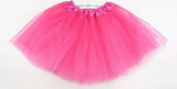Youth Ribbon Trim Tutu -Multiple Colors