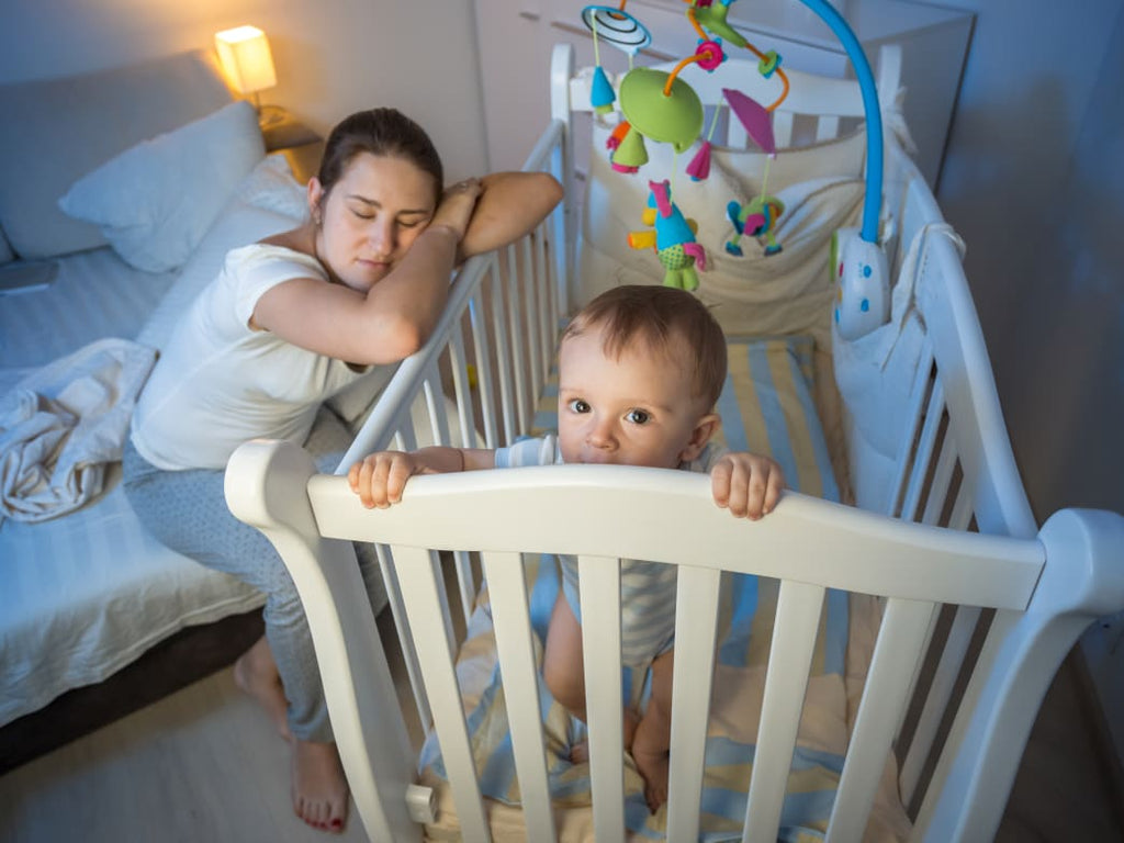 Baby Won't Sleep? Your Child Might Have Inherited Insomnia
