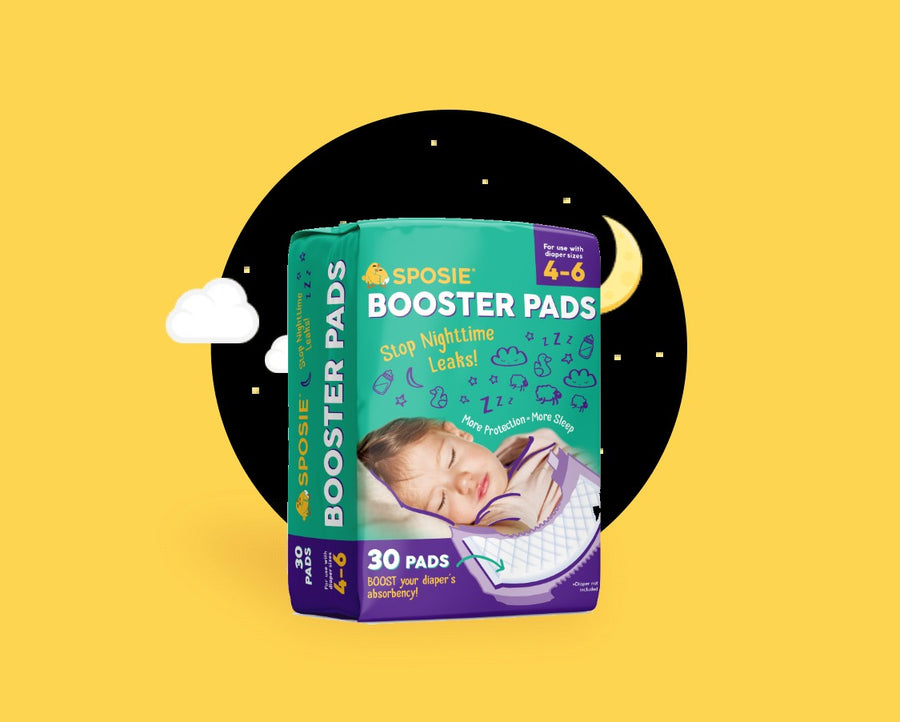 Sposie Diaper Booster Pads: Turn any diaper into an overnight diaper