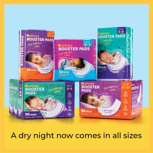 Sposie Booster Pads for diaper sizes N-3