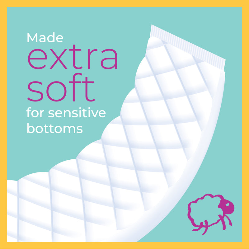 Sposie Booster Pads for diaper sizes 4-6 (90 ct.)