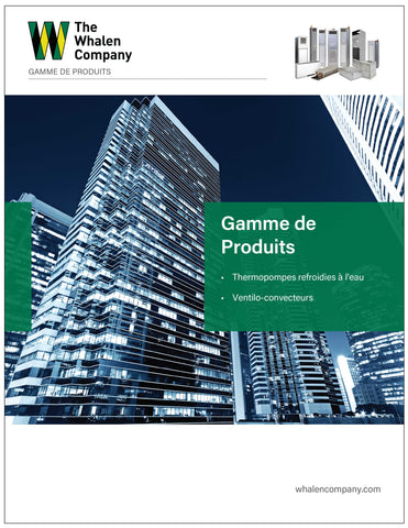 Commercial Product Line Brochure in French (25 pack)