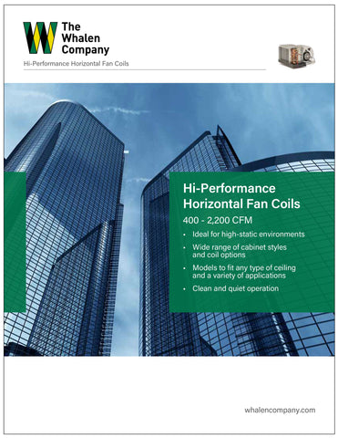 Hi-Performance Horizontal Fan Coil Brochure (25 pack)