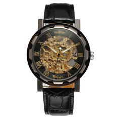 Berkeley Skeleton Watch - Sterling Timepieces