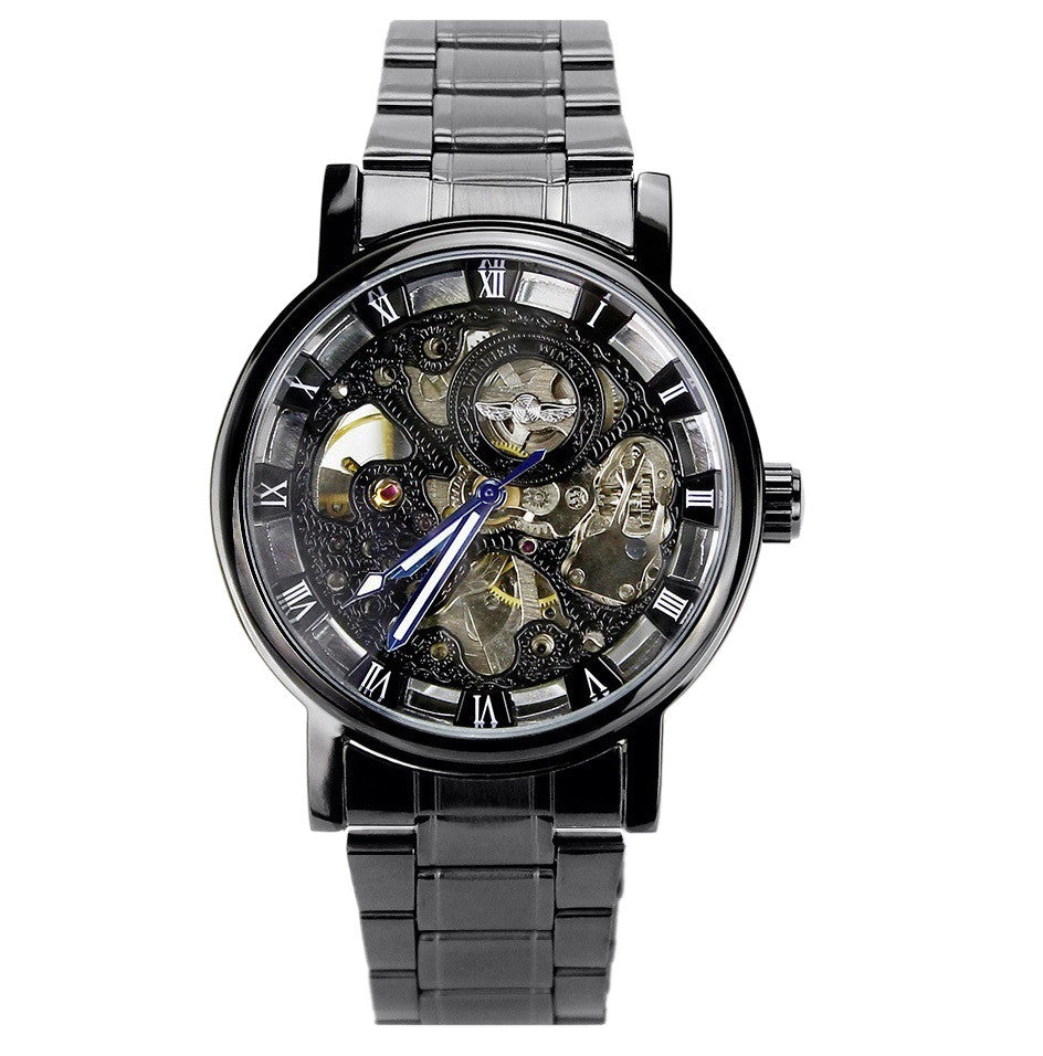 Finchley Skeleton Watch - Sterling Timepieces