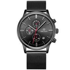 Odyssey Black Chronograph Watch - Sterling Timepieces