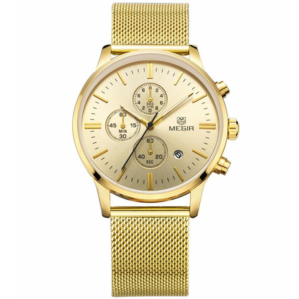 Odyssey Gold Chronograph Watch
