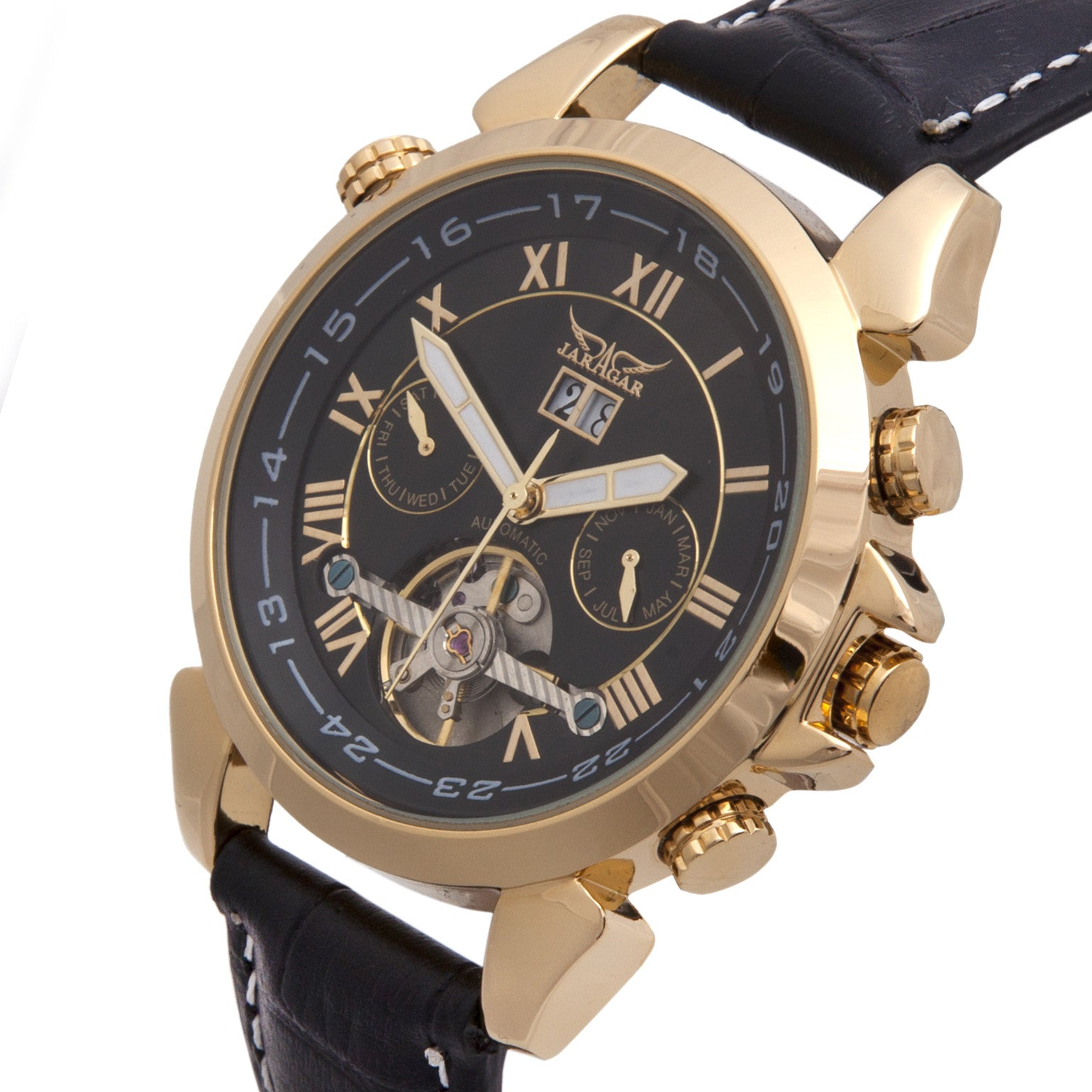 Windsor Skeleton Watch - Sterling Timepieces