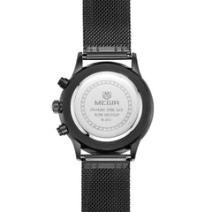 Odyssey Black Chronograph Watch - Sterling Timepieces - 4