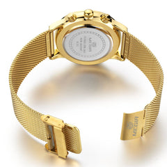 Odyssey Gold Chronograph Watch - Sterling Timepieces