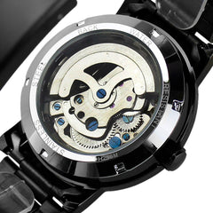 Finchley Skeleton Watch - Sterling Timepieces - 4