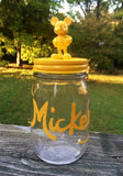 Minnie and Mickey Mouse pint size mason jar storage containers