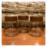 Vintage Sanka Coffee Jars. Set of 6 Vintage Coffee Jar, Sanka Coffee, Unusual Shaped Jars, Sanka jars with original lids, Retro Jars kitchen