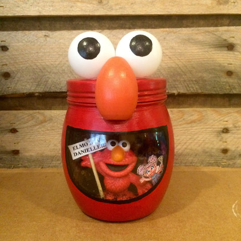 Elmo night light. Elmo light. Sesame Street night light. Personalized Elmo LED night light, Elmo and Friends light