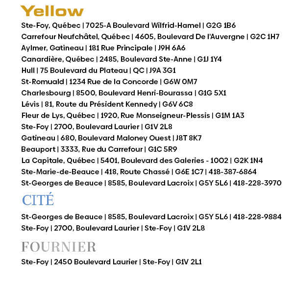 yellow shoes store updates