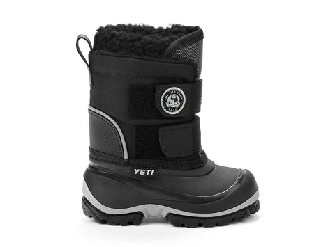 Yakim Yeti black 103090-01 gender-boys type-babies style-winter boots