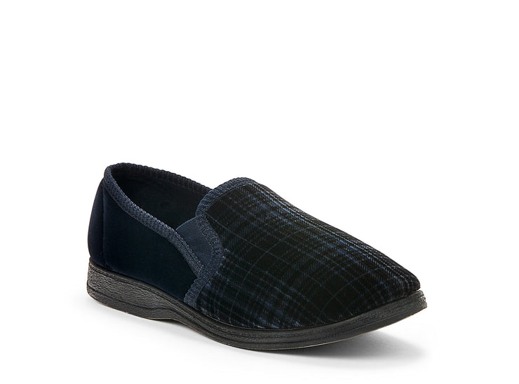 "[""ipswich duvet navy blue "", "" gender-mens type-slippers style-indoor""]"