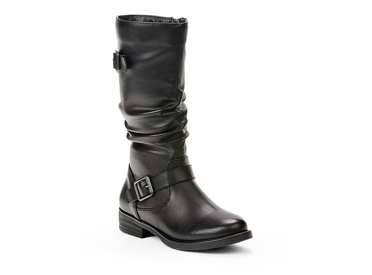 "[""revolt miss chelsee black "", "" gender-girls type-youth style-winter boots""]"