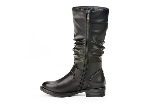 revolt miss chelsee black 105401-01 gender-girls type-youth style-winter boots