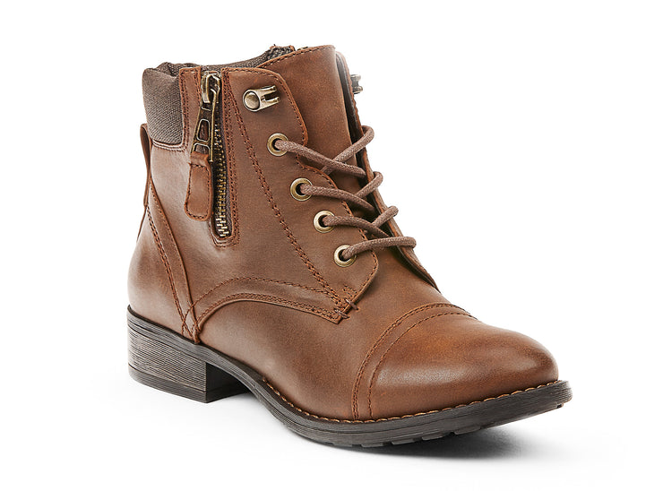 explorer chelsee girl cognac 105635-31 gender-womens type-light boots style-casual