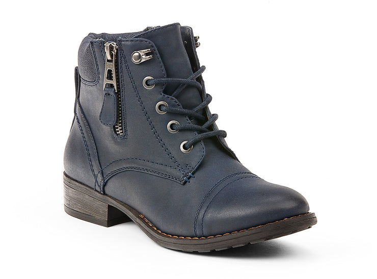 explorer chelsee girl navy blue 105635-43 gender-womens type-light boots style-casual