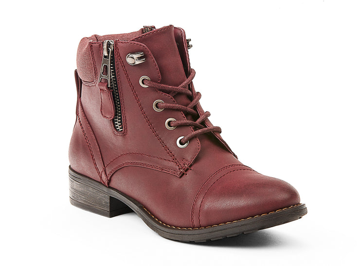 explorer chelsee girl burgundy 105635-50 gender-womens type-light boots style-casual