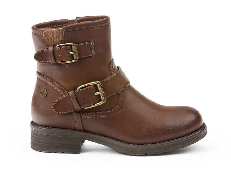 industrial chelsee girl cognac 105658-31 gender-womens type-light boots style-casual