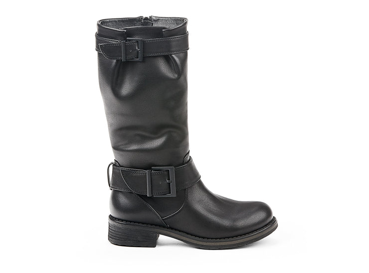 "[""bowery chelsee girl black "", "" gender-womens type-light boots style-casual""]"