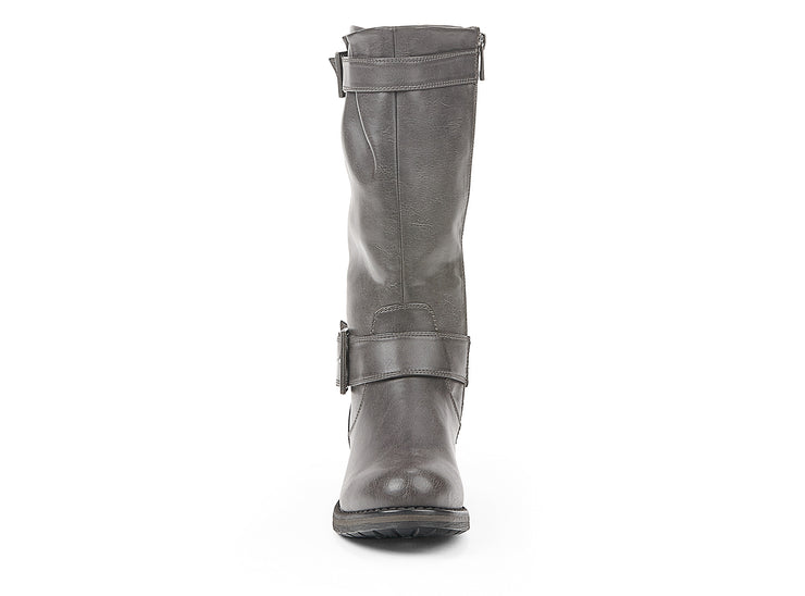"[""bowery chelsee girl grey "", "" gender-womens type-light boots style-casual""]"