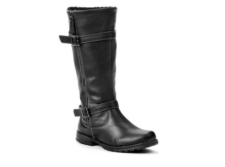 "[""equestrian Miss Chelsee black "", "" gender-girls type-junior style-winter boots""]"