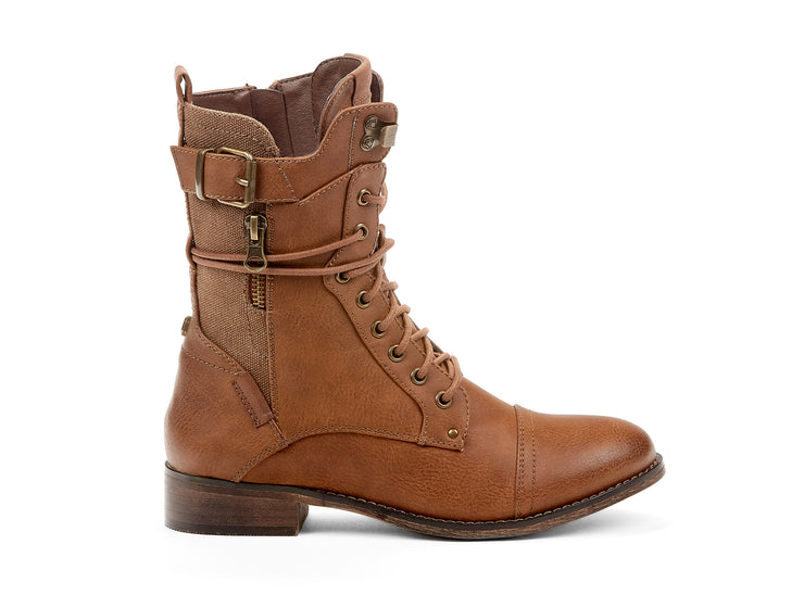 "[""festivaliers Chelsee girl cognac "", "" gender-womens type-light boots style-casual""]"