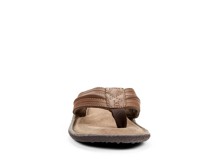 "[""tucson Riverland brown "", "" gender-mens type-sandals style-flat""]"