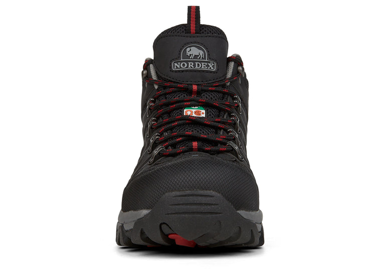 "[""Ionix Nordex black "", "" gender-mens type-safety boots style-exterior""]"