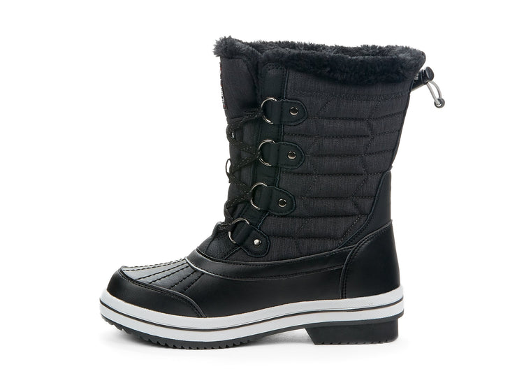 "[""Elevate Riverland black "", "" gender-womens type-winter boots style-winter sports""]"
