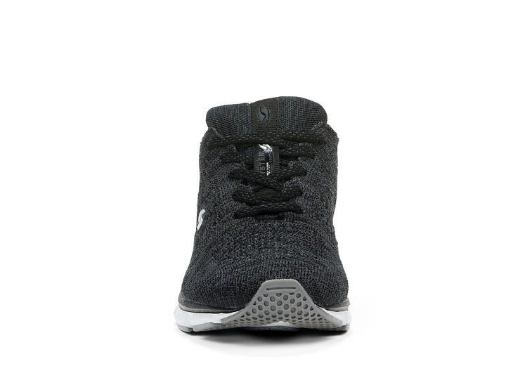 "[""Fabknit System black "", "" gender-womens type-athletic style-running""]"