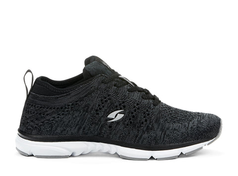 Fabknit System black 107643-01 gender-womens type-athletic style-running