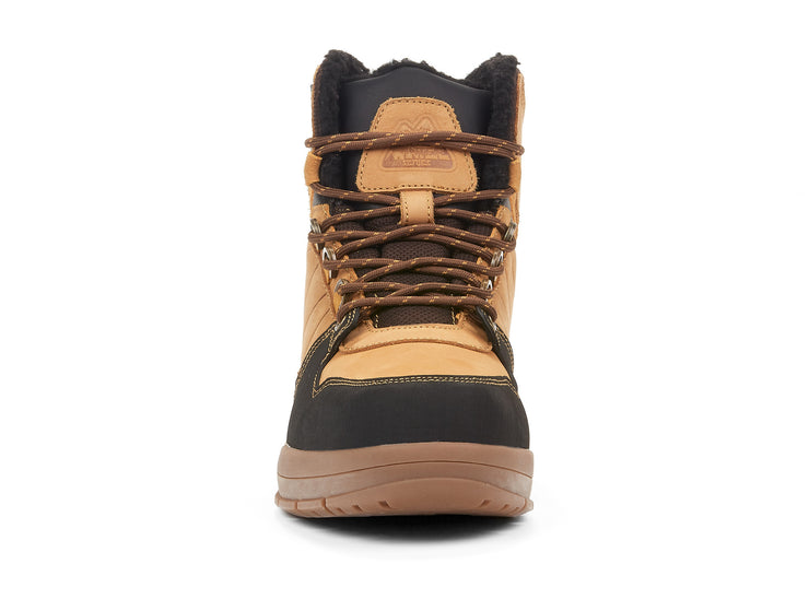 Dab Yellow wheat 107734-66 gender-mens type-winter boots style-casual