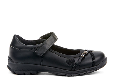 Lucille Miss Chelsee black 107766-01 gender-girls type-youth style-shoes