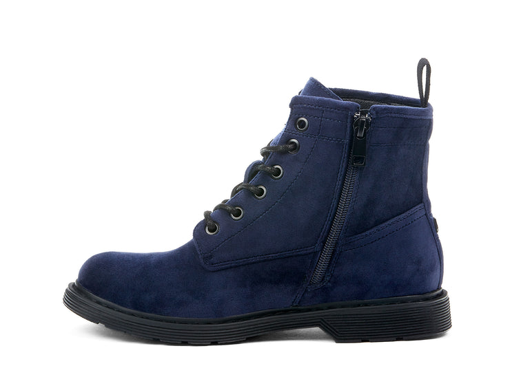 Courtney Velvet Chelsee Girl navy blue 107866-43 gender-womens type-light boots style-casual
