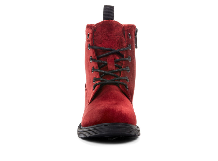 Courtney Velvet Chelsee Girl red 107866-55 gender-womens type-light boots style-casual