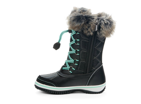 Chilly Yth Riverland black 107928-01 gender-girls type-youth style-winter boots