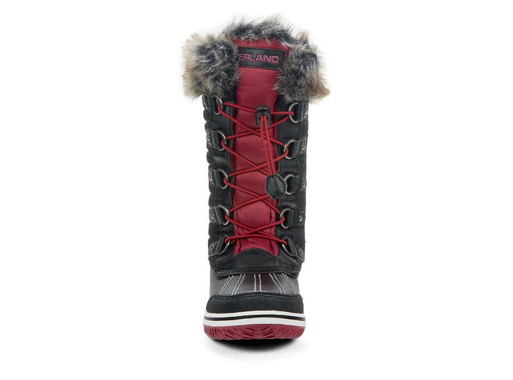 "[""Frosty Riverland black "", "" gender-girls type-junior style-winter boots""]"