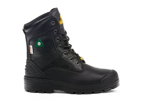 Quantum Nordex black 107991-01 gender-mens type-safety boots