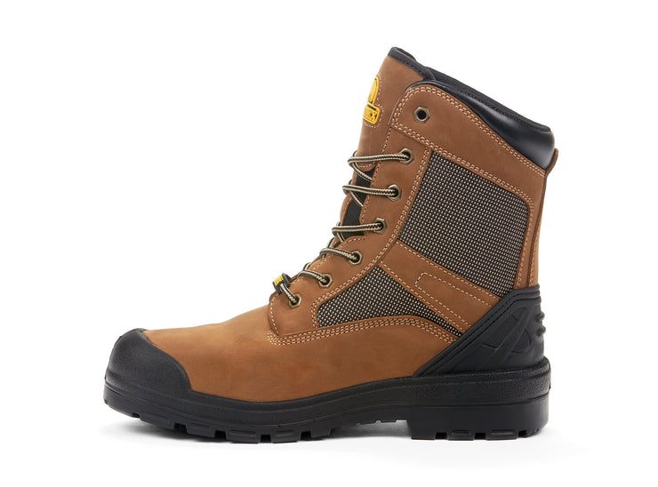 "[""Quantum Mesh Nordex brown "", "" gender-mens type-safety boots""]"