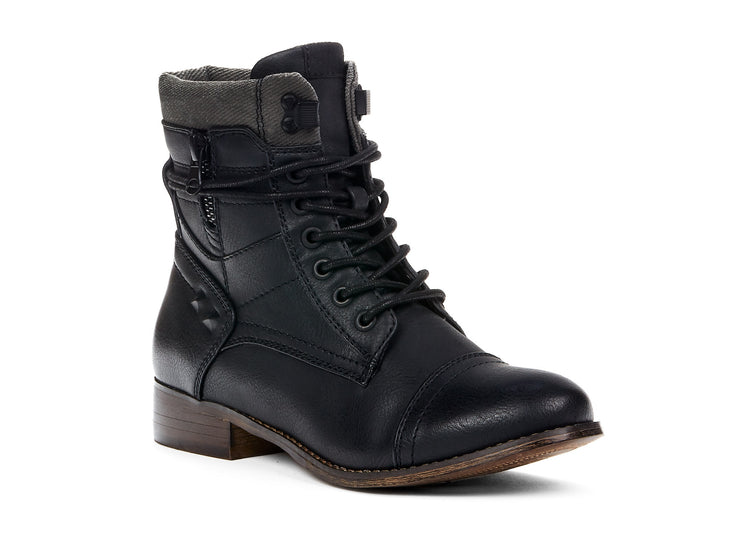 "[""Stomper Chelsee Girl black "", "" gender-womens type-light boots style-casual""]"
